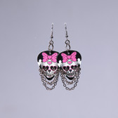 Hard Rock l Day of The Dead Heart Earrings