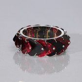 Guitar Band Bracelet Black & Red