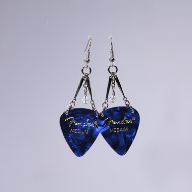 Blue with White Crystal I