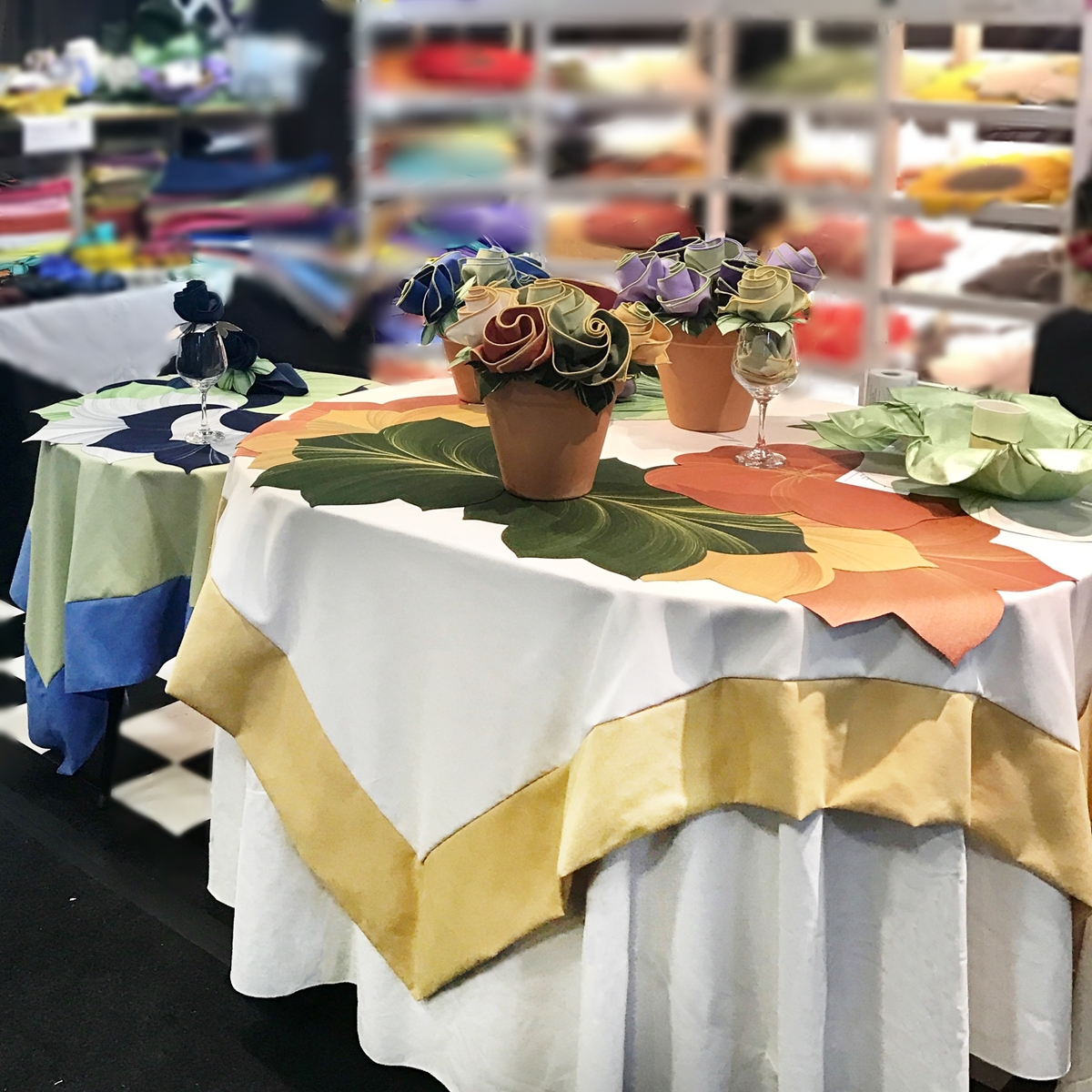 Custom Tablecloths - online quote