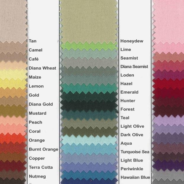 Carole ShiberCutom Colored Napkins
