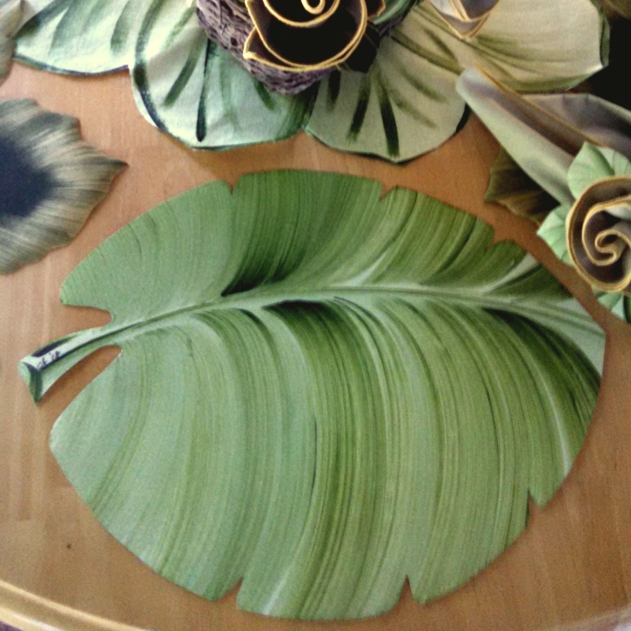 Palm Leaf Placemat