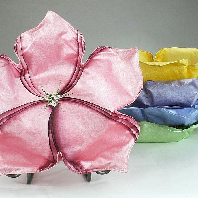Carole Shiber Sculpted Linen Bread Baskets, Eaches