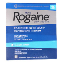 Mens Rogaine Topical Solution