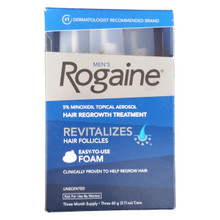 Mens Rogaine Foam