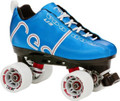 Labeda Voodoo U3 Blue Roller Derby Quad Speed Skates
