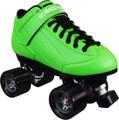 Roller Derby Stomp 5 Elite Green Quad Speed Skates