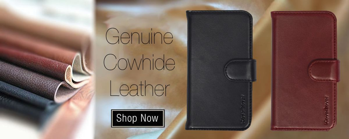 Genuine Leather Covers at iCoverLover