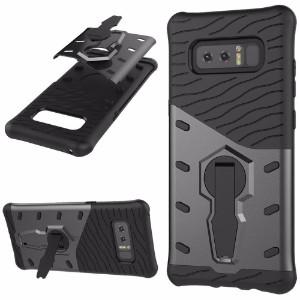 Black Hybrid Armor Samsung Galaxy Note 8 Case
