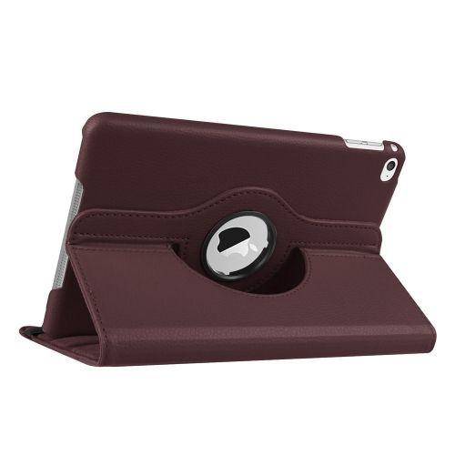 Coffee Leather iPad Mini 4 Case