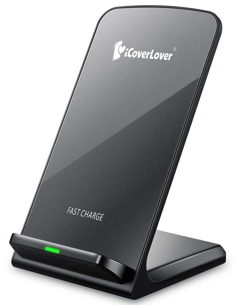 iCoverLover Fast Wireless Charger iPhone XS & X, XS MAX, XR, iPhone 8/8+, Samsung Galaxy S9,S9+,S8,S8+, Note 9/8