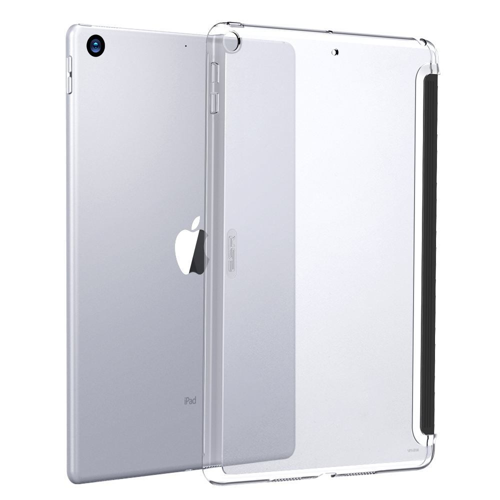 iPad Air 3 (2019) 10.5-inch Case Color Plus Series Clear Soft TPU Bumper + PC Back Shell with Precise Cutouts