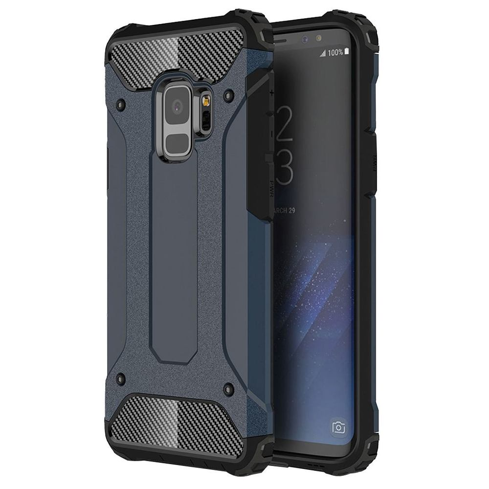 Navy Blue Strong Armour Samsung Galaxy S9 Case