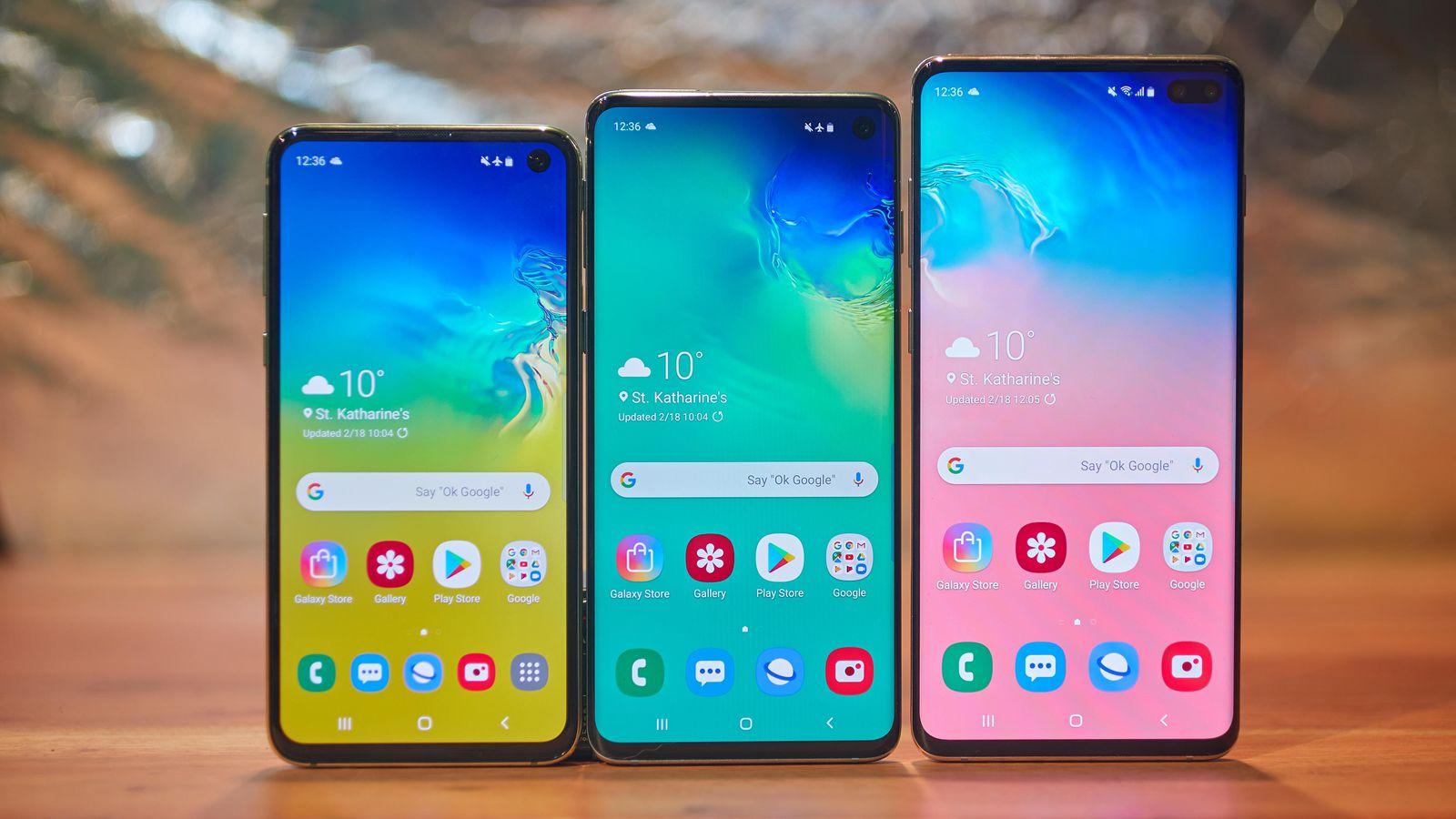 Samsung Galaxy S10, S10+,S10e