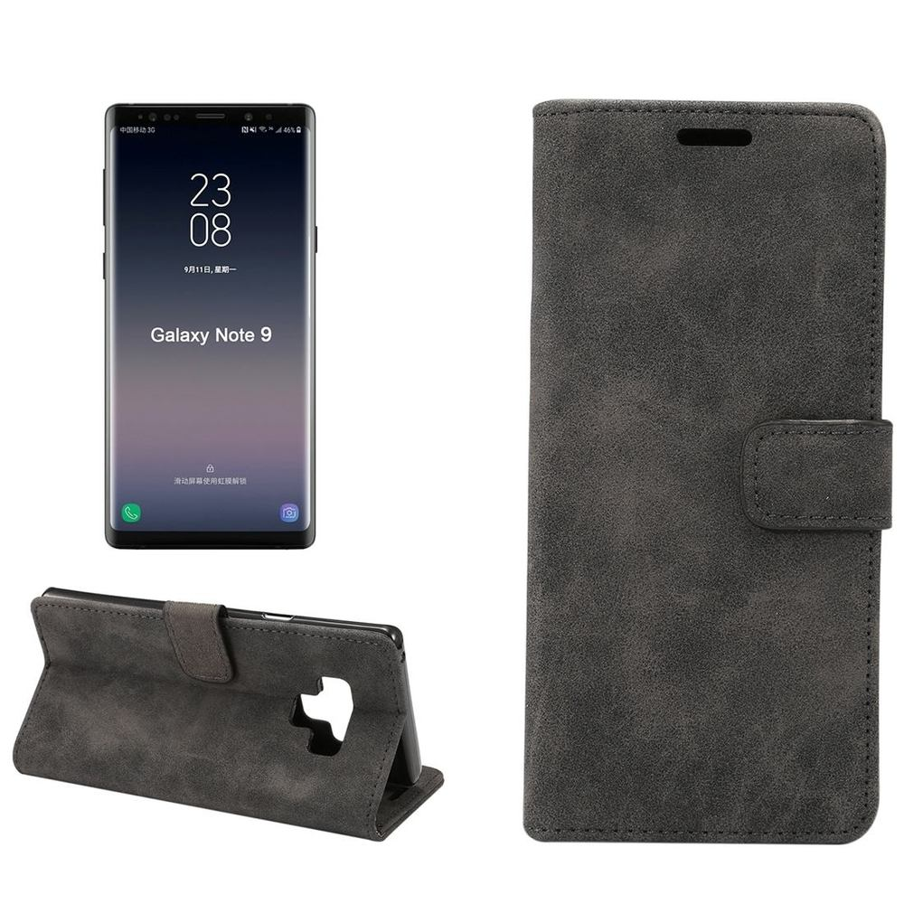 Black Sheep Texture Leather Samsung Galaxy Note 9 Case