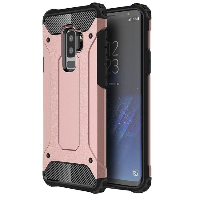 Rose Gold Armor Protective Samsung Galaxy S9 PLUS Back Case