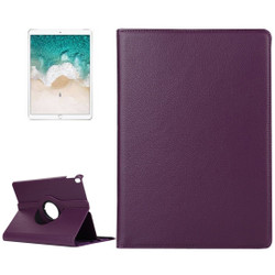 iPad Air 3 (2019) Case Purple Lychee Texture 360 Degree Spin PU Leather Folio Case with Precise Cutouts, Built-in Stand | Free Shipping Across Australia