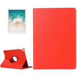 iPad Air 3 (2019) Case Red Lychee Texture 360 Degree Spin PU Leather Folio Case with Precise Cutouts, Built-in Stand | Free Shipping Across Australia