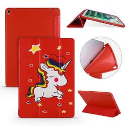iPad Air 3 (2019) Case Unicorn Pattern PU Leather & Honeycomb TPU Folio Cover | Free Delivery Across Australia
