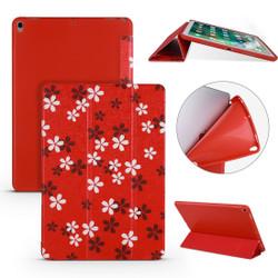 iPad Air 3 (2019) Case Sakura Pattern PU Leather & Honeycomb TPU Folio Cover | Free Delivery Across Australia