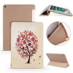 iPad Air 3 (2019) Case Maple Pattern PU Leather & Honeycomb TPU Folio Cover | Free Delivery Across Australia