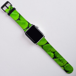Snake Patterned Apple Watch Band 42mm in Satin