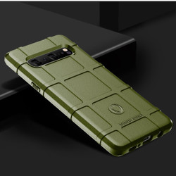 Samsung Galaxy S10 5G Army Green Shockproof Rugged Shield Full Coverage Protective Silicone Case | Free Delivery across Australia