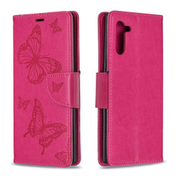 Galaxy Note 10 Case, Butterfly Embossed Pattern | iCoverLover