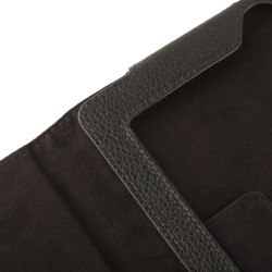 Black Litchi Leather iPad 2 / iPad 3 / iPad 4 Case | iPad Cases Australia | iPad 2 / 3 / 4 Cases | iCoverLover