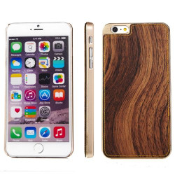Brown Wood Texture Metal iPhone 6 & 6S Case | iPhone 6 & 6S Cases Australia | Metallic iPhone 6 & 6S Cases | iCoverLover