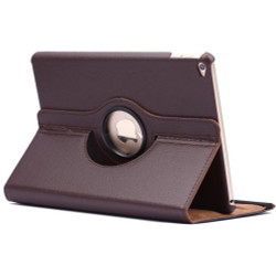 Brown Rotatable Flip Leather iPad Air 2 Case   Cool iPad Air 2 Cases   iPad Air 2 Covers   iCoverLover