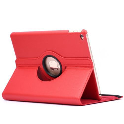 Red Rotatable Flip Leather iPad Air 2 Case | Cool iPad Air 2 Cases | iPad Air 2 Covers | iCoverLover