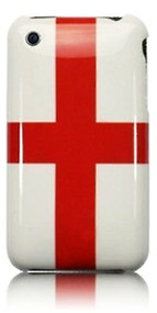 England Flag iPhone 3 Case  English iPhone Case   St Georges Cross iPhone Case   iCoverLover