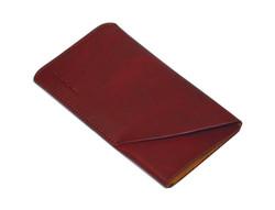 iPhone 8, 7, 6S & 6 Reddish Brown Top-grain Genuine Leather Pouch, Headphone Case, Anti-Scratch, Anti-Slip and Wear-and-Tear Resistant Genuine Leather iPhone 6, 6S & 8 & 7 Cases | Genuine Leather iPhone 6, 6S & 8 & 7 Covers