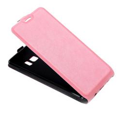 Pink Vertical Flip Samsung Galaxy Note FE Case   Leather Samsung Galaxy Note FE Cases   Leather Samsung Galaxy Note FE Covers   iCoverLover