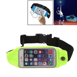 Green Sweat-proof Sports Universal up to 4.7 Inch Phones Waist Bag  | Sports Universal Accessories | iCoverLover