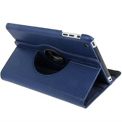 Dark Blue Leather iPad Mini 1, 2, 3  Case | Leather iPad Mini 1 / 2 / 3 Cases | Leather iPad Mini 1 / 2 / 3 Covers | iCoverLover