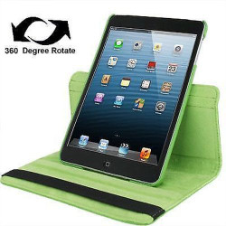 Green Leather iPad Mini 1, 2, 3 Case | Leather iPad Mini 1 / 2 / 3 Cases | Leather iPad Mini 1 / 2 / 3 Covers | iCoverLover