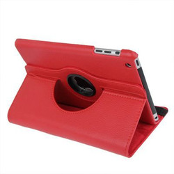 Red Leather iPad Mini 1, 2, 3 Case | Leather iPad Mini 1 / 2 / 3 Cases | Leather iPad Mini 1 / 2 / 3 Covers | iCoverLover