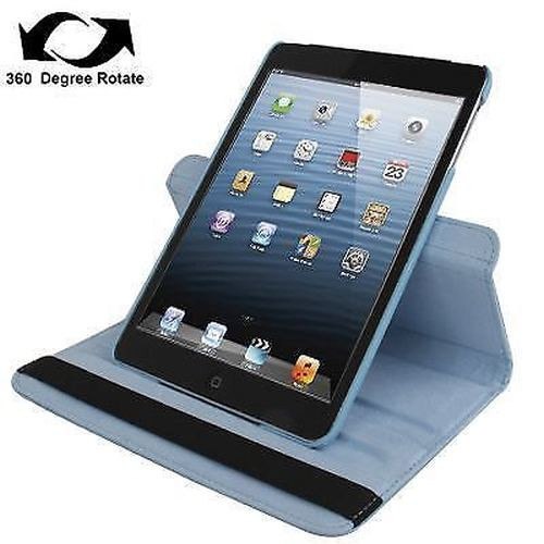 Baby Blue Leather iPad Mini 1 / 2 / 3 Case | Leather iPad Mini 1 / 2 / 3 Cases | Leather iPad Mini 1 / 2 / 3 Covers | iCoverLover