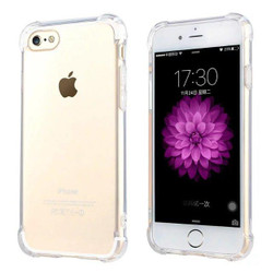 Shockproof Grippy Transparent iPhone 8 & 7 Case | Protective iPhone Cases | Protective iPhone Covers | iCoverLover
