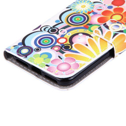 Colourful Fireworks Leather Wallet iPhone 8 & 7 Case | iPhone 8 & 7 Leather Cases | iPhone 8 & 7 Leather Covers | iCoverLover