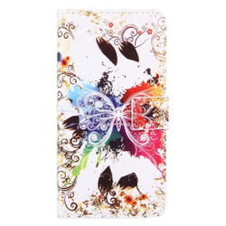 Crystal Butterfly Leather Wallet iPhone 8 PLUS & 7 PLUS Case | iPhone 8 PLUS & 7 PLUS Case Leather Cases | iPhone 8 PLUS & 7 PLUS Case Leather Covers | iCoverLover