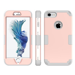 Rose Gold Triple Layer Armor iPhone 8 & 7 Case | Armor iPhone 8 & 7 Cases | Armor iPhone 8 & 7 Covers | iCoverLover
