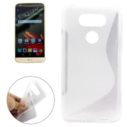 Transparent Grippy S-Shaped LG G5 Case | Protective LG G5 Cases | Protective LG G5 Covers | iCoverLover