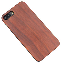 Rosewood Smooth iPhone 8 PLUS & 7 PLUS Case | Wooden iPhone 8 PLUS & 7 PLUS Cases | Wooden iPhone 8 PLUS & 7 PLUS Covers | iCoverLover