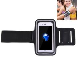 Black Sports iPhone 8 PLUS & 7 PLUS Case Armband | Sport Universal Accessories | iCoverLover