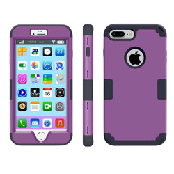 Purple Triple Layer Armor iPhone 8 PLUS & 7 PLUS Case | Armor iPhone 8 PLUS & 7 PLUS Cases | Armor iPhone 8 PLUS & 7 PLUS Covers | iCoverLover