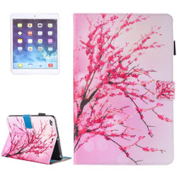 Peach Blossom Leather Wallet iPad 2017 9.7-inch Case | Leather iPad 2017 Cases | iPad 2017 Covers | iCoverLover