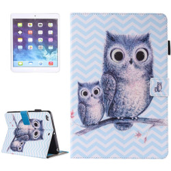 Owly Leather Wallet iPad 2017 9.7-inch Case | Leather iPad 2017 Cases | iPad 2017 Covers | iCoverLover